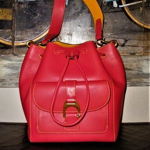 Dooney & Bourke Emerson Marlowe Coral Leather Bag